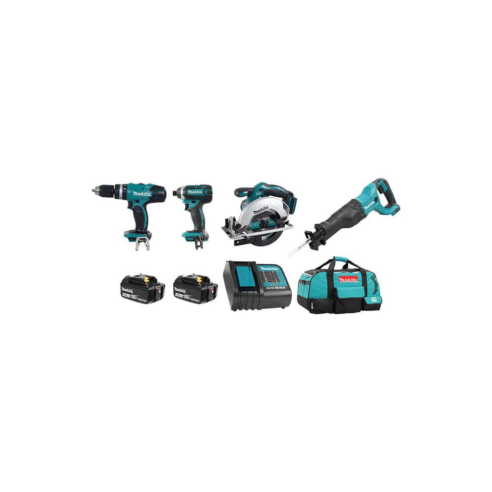 18V (3.0 Ah) LXT 4 Tool Combo Kit