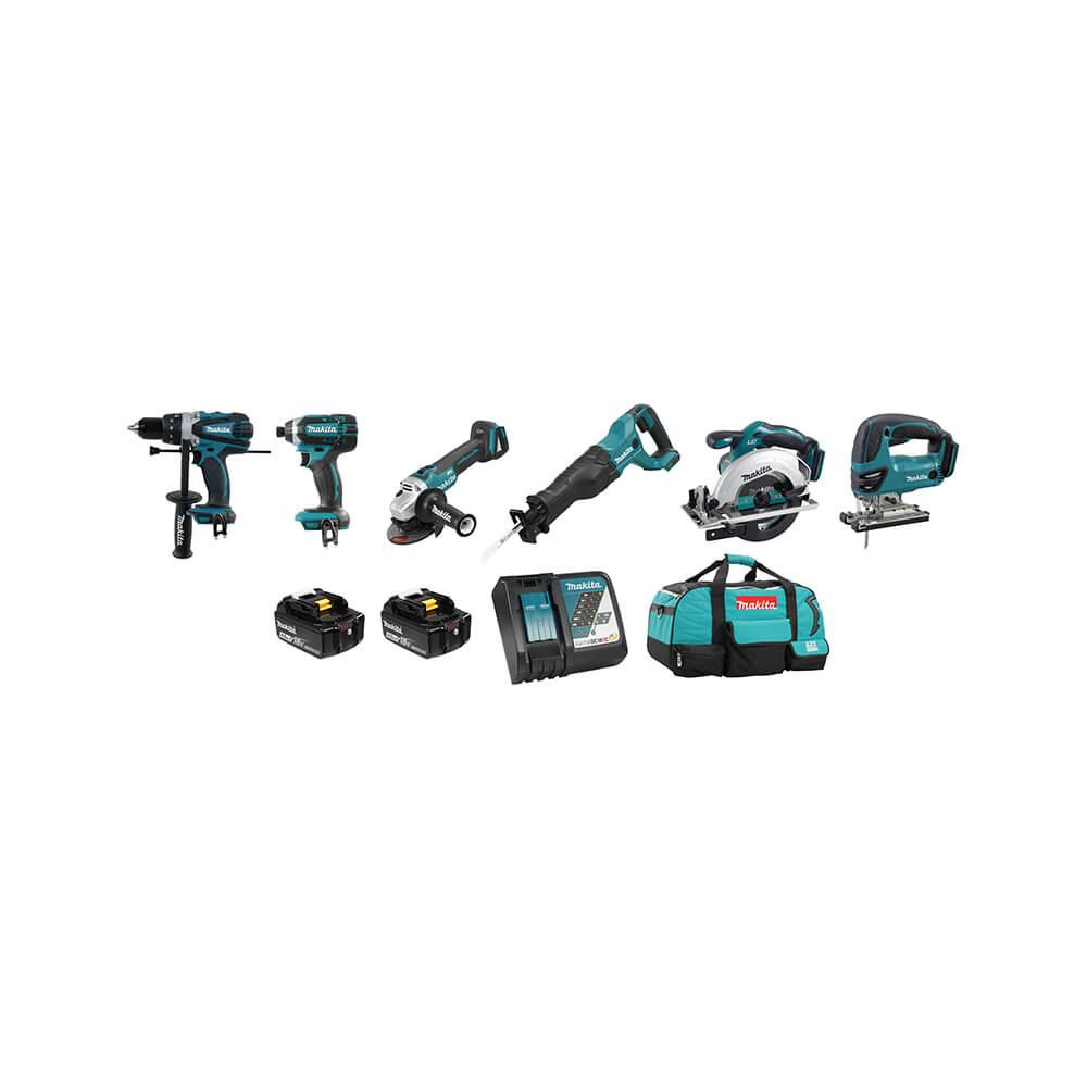 18V (4.0 Ah) LXT 6 Tool Combo Kit