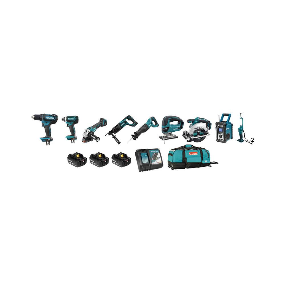 18V (4.0 Ah) LXT 9 Tool Combo Kit