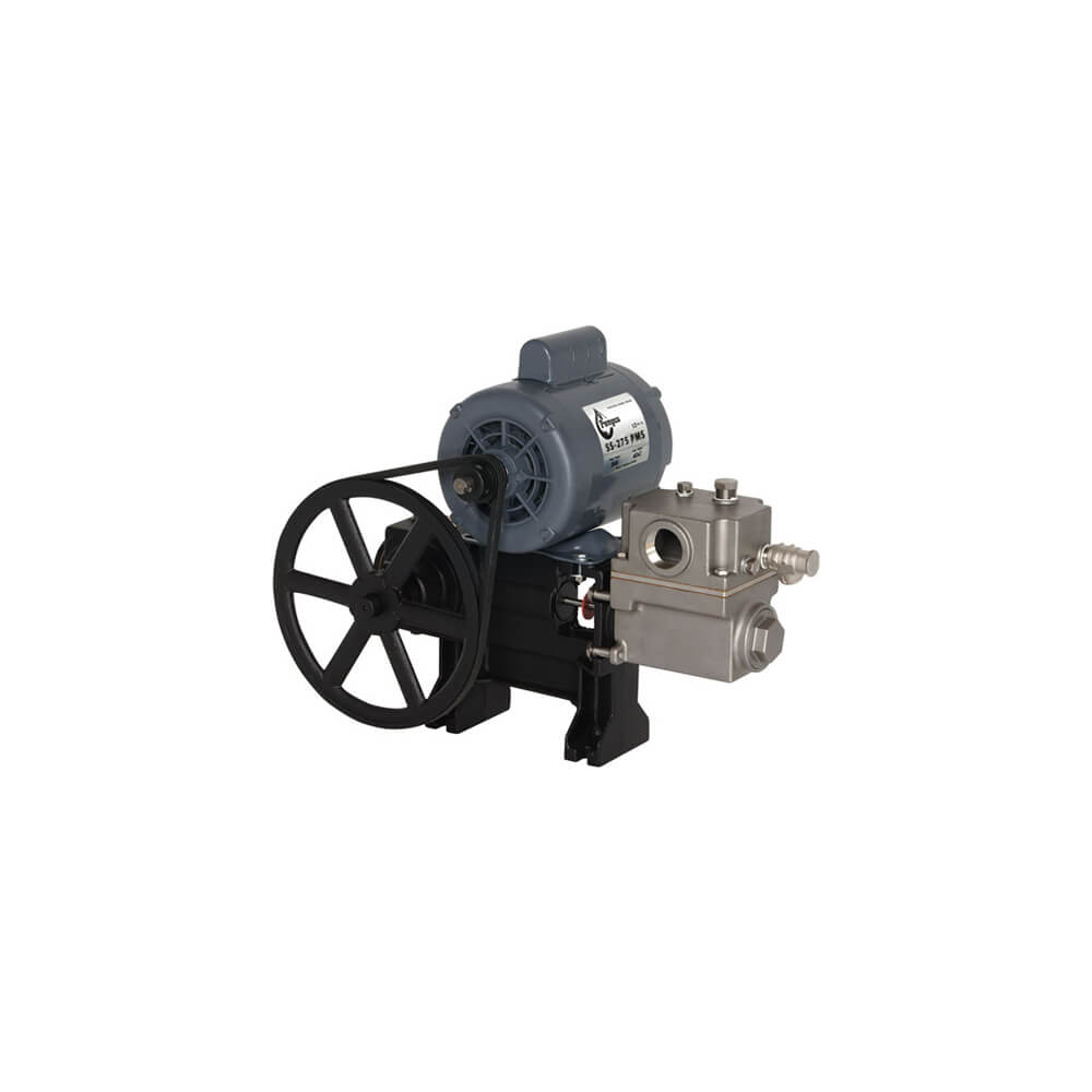 Stainless steel piston pump  S-275 S/S with motor
