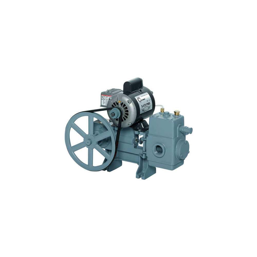 Cast Iron Piston Pump   8-595 with motor