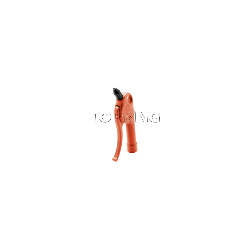 AIRPRO Blow Gun Rubber tip Short Tube Red