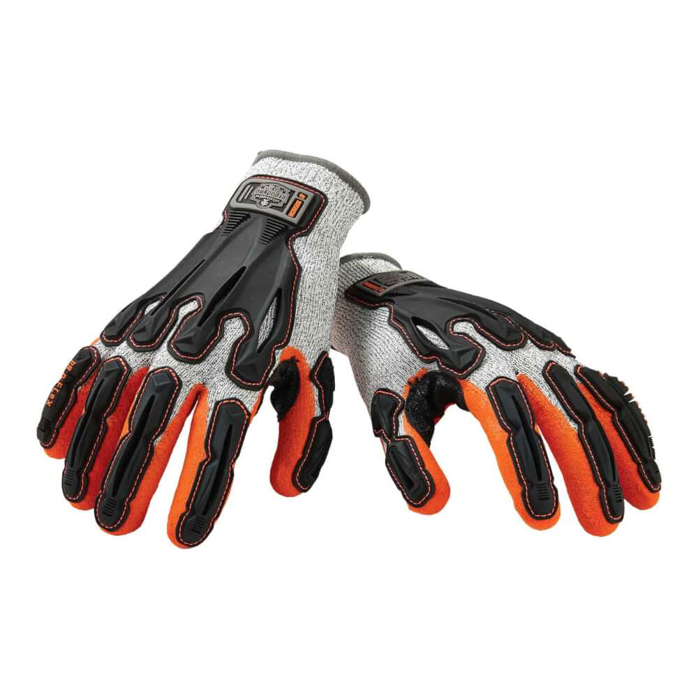 ProFlex® 922CR Medium Gray Level 5 Cut Resistant Nitrile-Dipped DIR Work Gloves