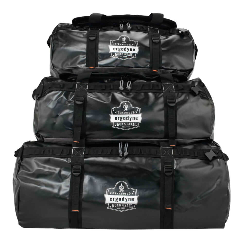 ProFlex® 5030 L Black Water Resistant Duffel Bag