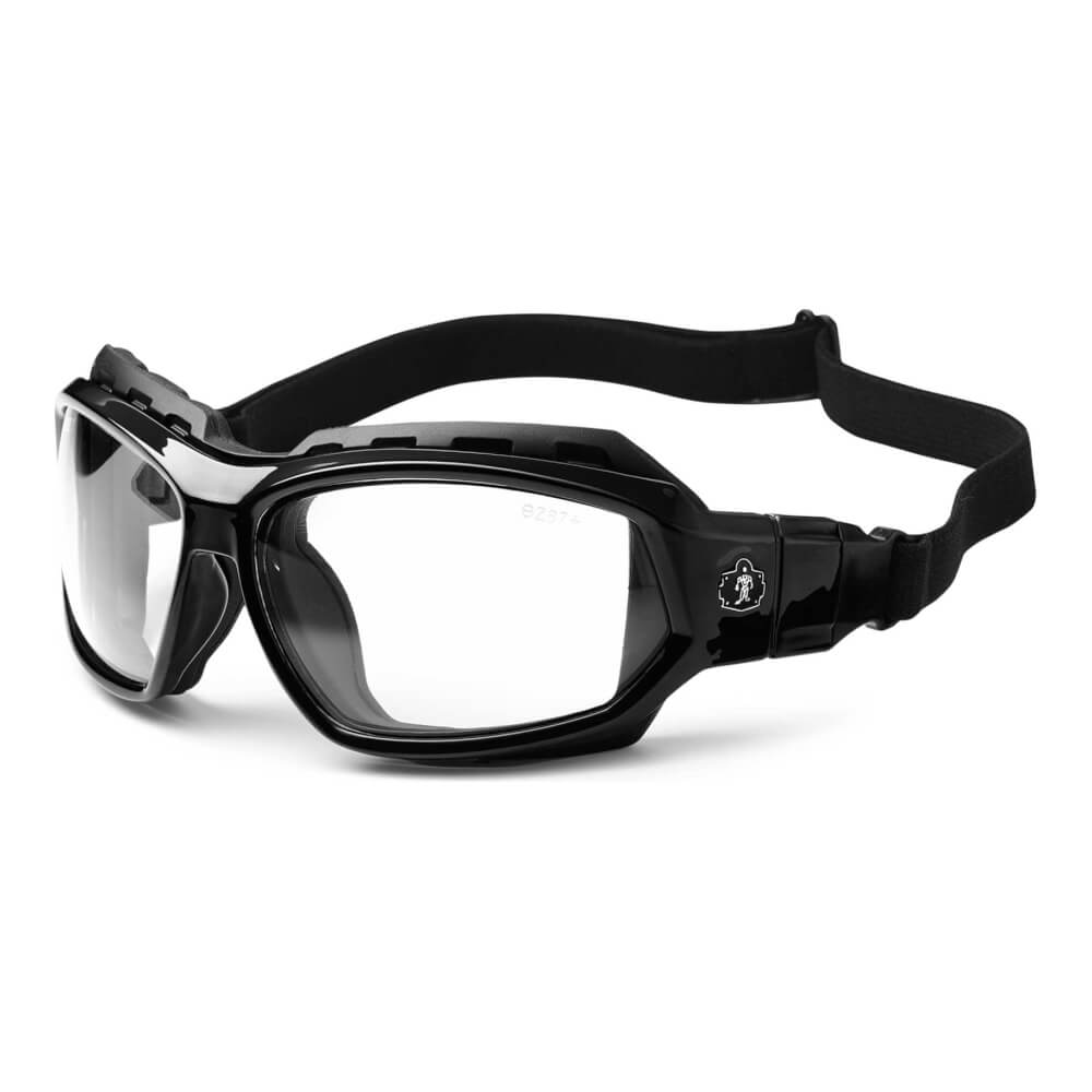 ProFlex® LOKI Clear Lens black Safety Glasses // Goggles